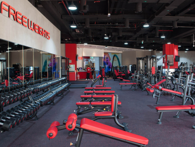 A new Abu Dhabi gym is offering monthly membership for Dhs199
