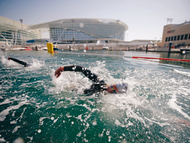 Four triathlons coming to Abu Dhabi in 2020