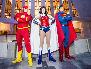 Warner Bros. World Abu Dhabi launches Super Hero Saturdays for kids