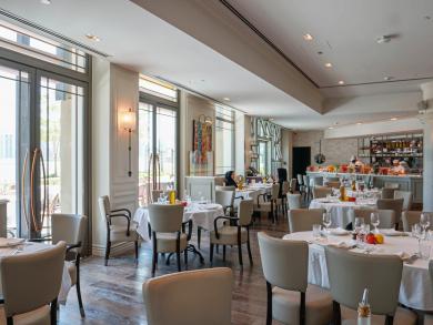 Take a look at the ten best European restaurants in Abu Dhabi