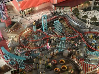 Here's what Ferrari World Abu Dhabi's new Family Zone will look like