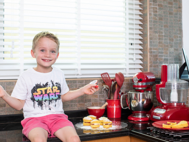 Valentine's Day 2020: Four sweet treats to make with the kids at home