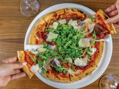 Get unlimited pizza for Dhs99 for one day only in Abu Dhabi
