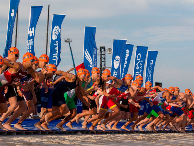Everything you need to know about the ITU World Triathlon in Abu Dhabi