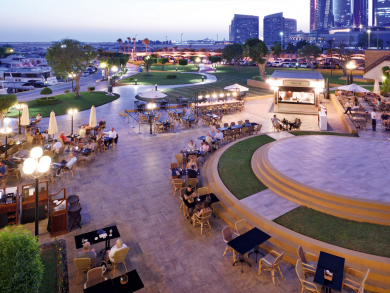 Seven brilliant bars in Abu Dhabi's Al Bateen area