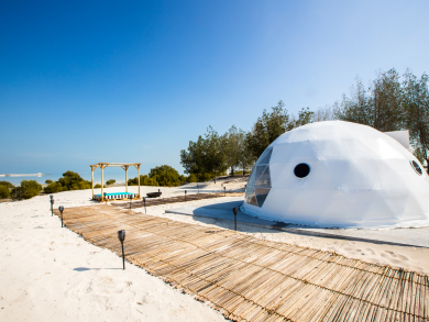 Glamping pods are coming to Abu Dhabi's Jubail Mangrove Park
