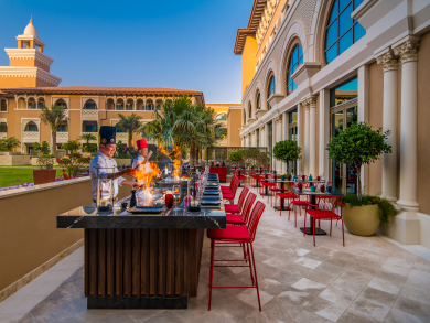 Abu Dhabi's Rixos Premium Saadiyat Island's restaurants are now open to the public
