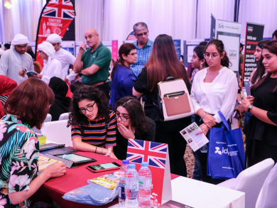 A huge education fair is coming to the UAE