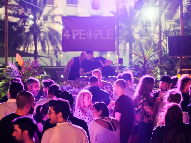 4 People club night is returning to Abu Dhabi this weekend