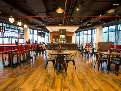 Ladies can brunch for Dhs99 at Abu Dhabi's Stock Burger Co.