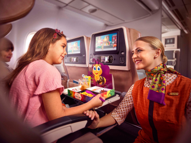 Abu Dhabi's Etihad Airways named world's most family-friendly airline