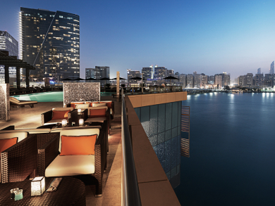 Perfect Abu Dhabi bars for watching it rain
