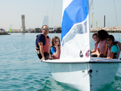 Why your kids should learn to sail in the UAE