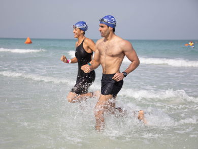 Abu Dhabi's family-friendly Swim For Clean Seas event is coming back