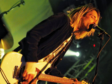 A Nirvana tribute band is coming to Abu Dhabi this weekend
