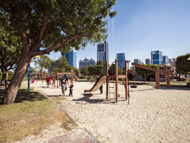 Abu Dhabi public parks re-open to the public with revised opening times