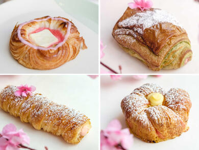 Celebrate Cherry Blossom Season with Yamanote Atelier's new Japanese pastries