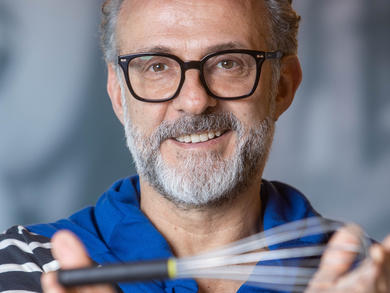 Massimo Bottura hosts online cooking lesson