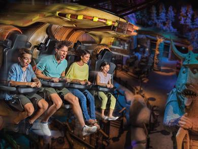 Ride these ten UAE theme park rides virtually