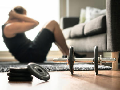Three home workouts to stay fit while social distancing