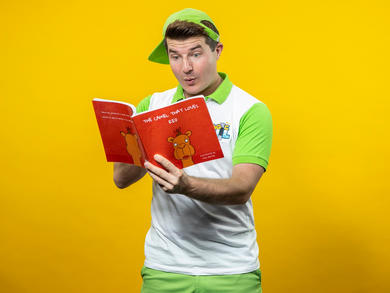 Magic Phil will be reading his brand-new book to kids across the UAE on social media