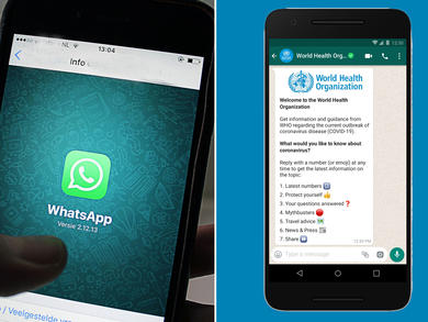 Get all the latest COVID-19 updates from the World Health Organisation via WhatsApp in the UAE