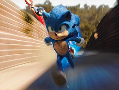 See how Abu Dhabi was used in the new Sonic the Hedgehog film