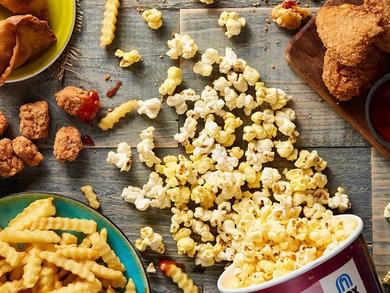 Get free popcorn at home every Sunday with VOX Cinemas