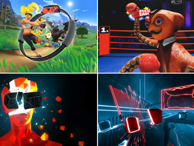 The best games that will make you work up a sweat