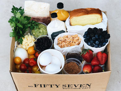 Abu Dhabi's No. FiftySeven Boutique Café launches ingredient box delivery service
