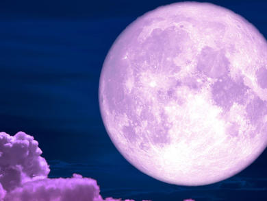 A super 'pink moon' will be visible in the UAE tomorrow morning
