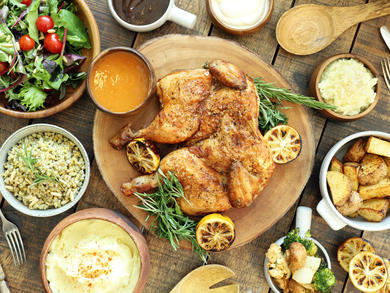Make the most of Circle Café's roast chicken delivery deal this Easter weekend
