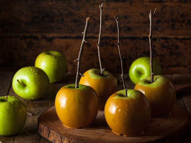 Recipe: Homemade toffee apples