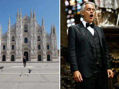 Andrea Bocelli's Easter Sunday concert made available on-demand