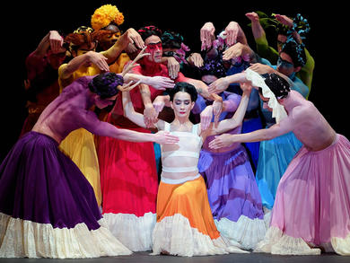 Ballet fans in the UAE can now stream Frida Kahlo's Broken Wings for free