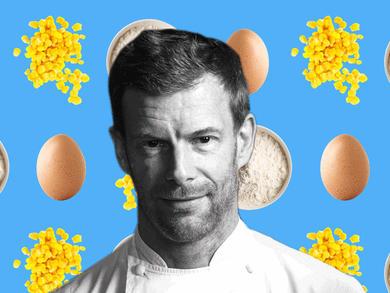 Recipe: Tom Aikens' tinned sweetcorn pancakes