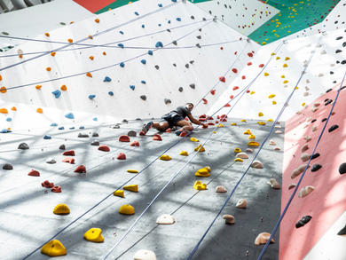 CLYMB Abu Dhabi shares workout guide to keep climbers fit during lockdown