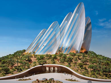 What's happening with Abu Dhabi's Sheikh Zayed National Museum?