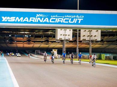 Where you can go cycling in Abu Dhabi
