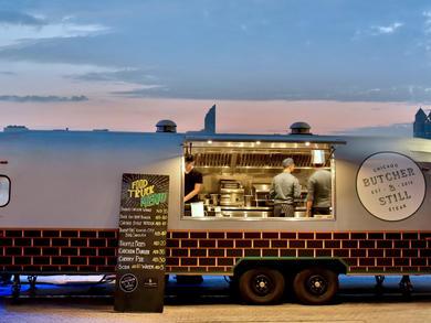 Where to find food trucks in Abu Dhabi