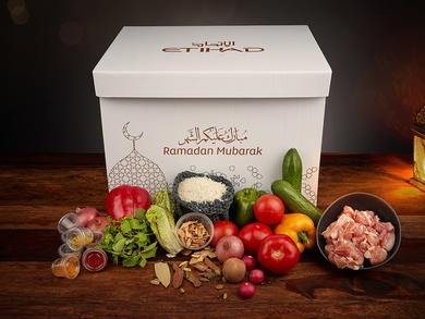 Etihad Airways will distribute Ramadan boxes to those affected by COVID-19