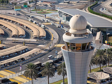 Robots will be used to disinfect Abu Dhabi Airports