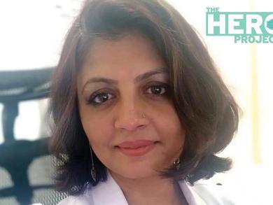 The Hero Project: Dr Humair Iqbal, specialist – family medicine, Lifeline Hospital Abu Dhabi