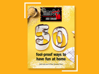 Time Out Abu Dhabi's latest issue now available for free download