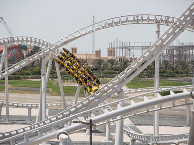 Your guide to the ten best rollercoasters in the UAE