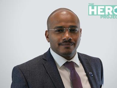 The Hero Project: Dr Wael Faroug Elamin at Kings College Hospital Dubai