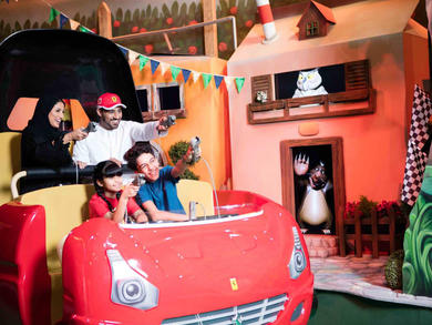 Best kids attractions in Abu Dhabi