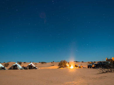 Amazing overnight camping trips in Abu Dhabi