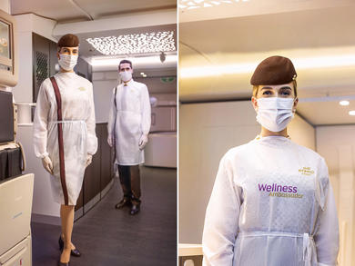 Abu Dhabi's Etihad Airways launch Wellness Ambassadors to improve passenger safety