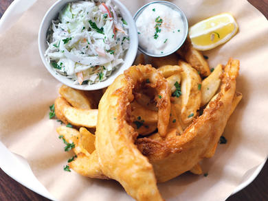 Abu Dhabi's best fish and Chips